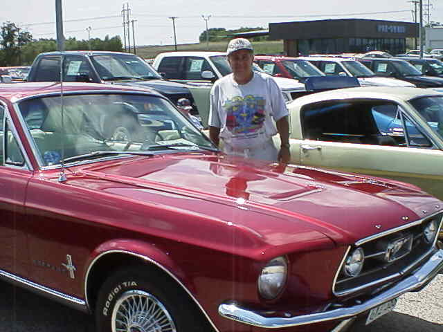 My 1967 Mustang Coupe at Waco