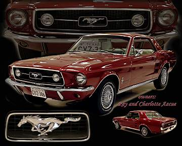 1967 Mustang Coupe - Concours Driven